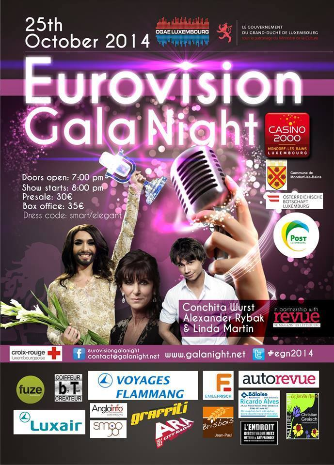 Eurovision Galanight Ogae 2014 Luxembourg