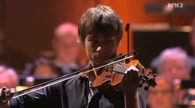 Alexander Rybak in the Menuhin Gala-concert in Oslo, April 25th, 2010
