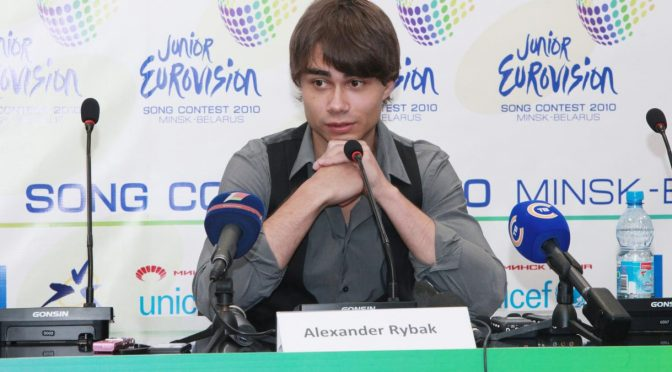 Alexander Rybak's press-conference before Junior Eurovision, Minsk, Belarus, November 20th, 2010