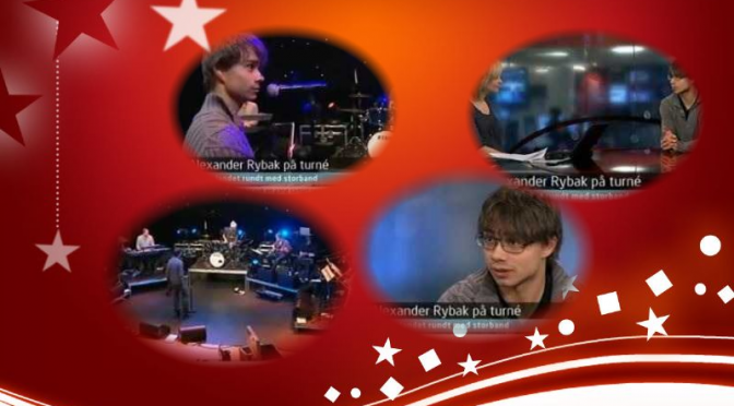 Alexander Rybak in Morgennytt NRK about his Christmas Tour, Norway 25.11.2010