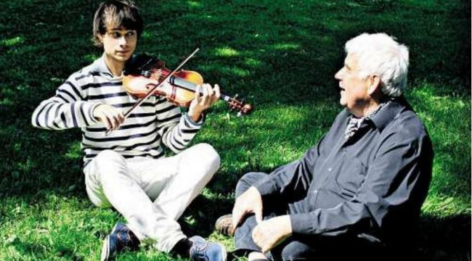 Interview with Alexander Rybak in paper issue of Aftenposten  26.6.11.