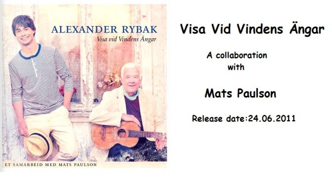 "Review of Alexander Rybak's new album ""Visa vid vindens ängar"""