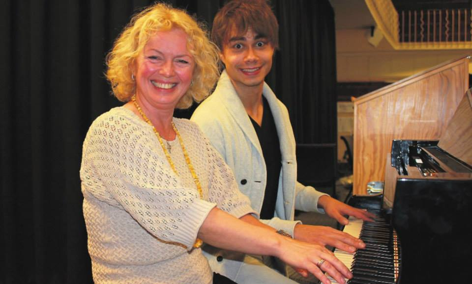 Alexander Rybak at the Prima Music School Seminar