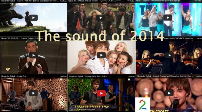 The Sound of 2014 – Alexander Rybak as Composer and Performer