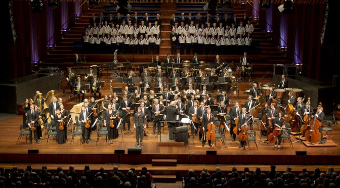 Alexander Rybak soloist at the Norwegian National Youth Orchestra's New Year Concert 2015