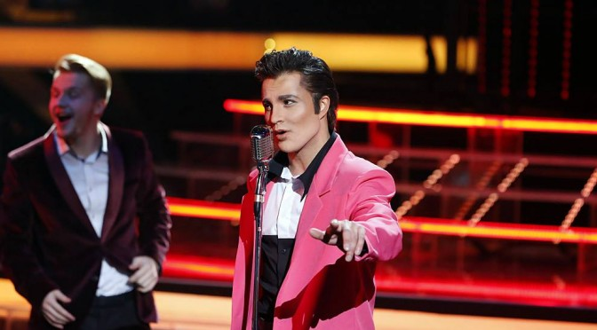 "Alexander Rybak will perform in the image of Elvis Presley at the premiere of ""One to One"" show"