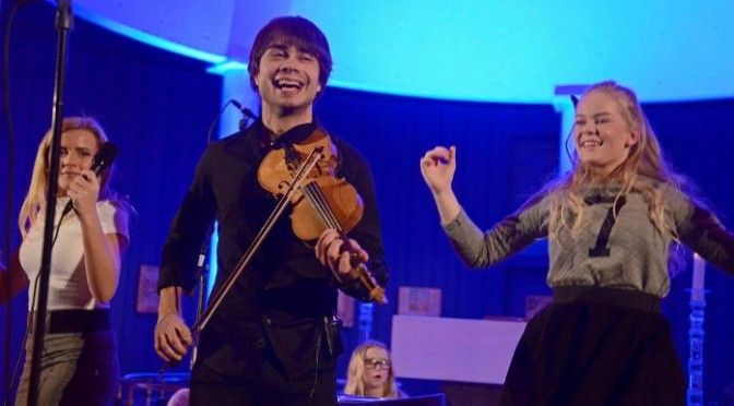 Family Concert Lillehammer 1.2.2015 – Article and radio interview