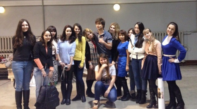 """Alexander's fans tell their stories about meeting him at the show """"One to One""""  :)"""