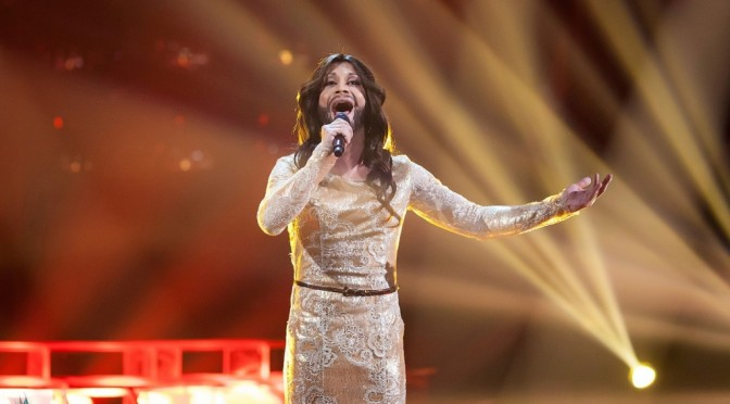 "Alexander  as Conchita Wurst. ""One to One"" show – semi-final"