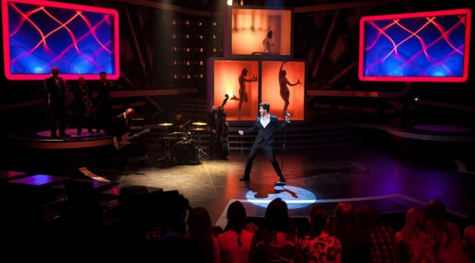 "Alexander  as Michael Bublé in ""One to One"" show – Final"