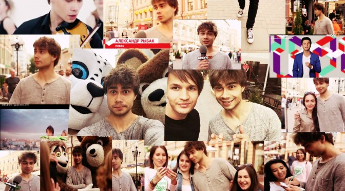 Alexander Rybak about his  music video 'Kotik' in 'News time' on 'Bridge TV'