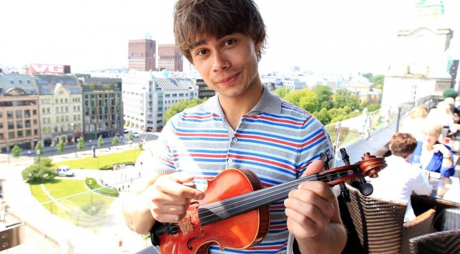 "Alexander Rybak – book review of ""Trolle"" in Aftenposten"