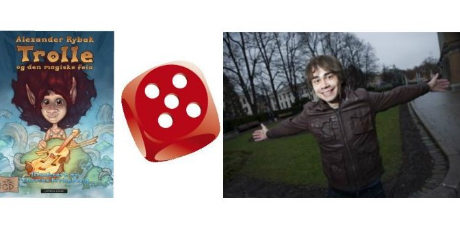 "Alexander Rybak – Book review of ""Trolle and the Magic Fiddle"" in Dagbladet"