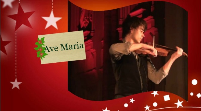 1. December 2015 – Letter A – Ave Maria