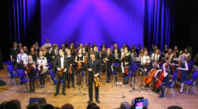 The wizard with the fiddle – Orchestra seminar and concert in Fosnavåg, Norway 12-14.02.2016