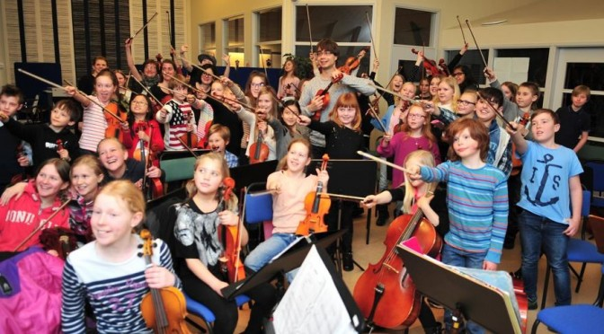 Orchestra seminar and concert in Eksjø, Sweden, 4. to 6. of March 2016