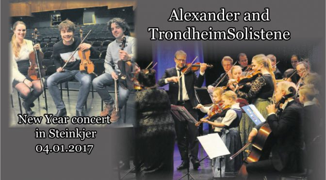 Classical mix for a sold out Dampsaga – New Year concert in Steinkjer, Norway