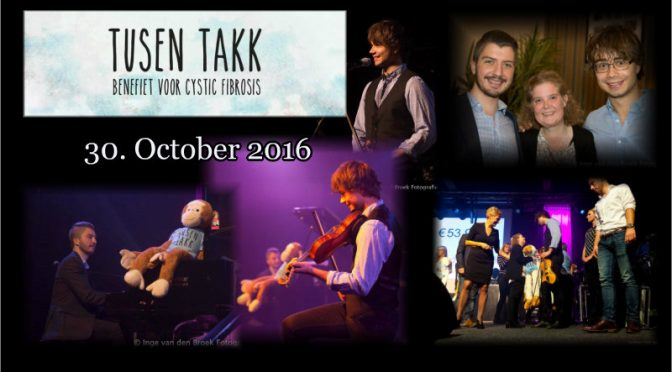 "The Benefit concert ""Tusen Takk"" in Boxmeer 30. October 2016"