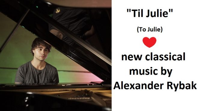 "Alexander Rybak – ""Til Julie"" – New music video"