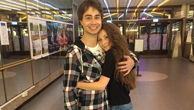 Alexander Rybak wrote a birthday song for his girlfriend.