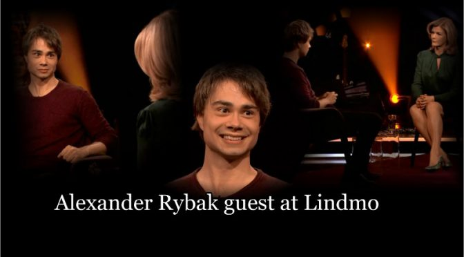 Alexander Rybak in the Norwegian talk-show Lindmo 20.01.18