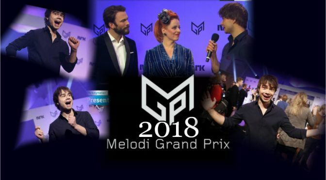 Great news! Alexander Rybak takes part in Melodi Grand Prix 2018.