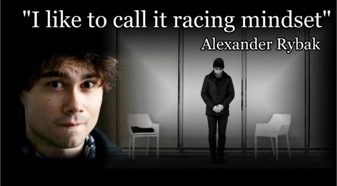 His thoughts have given Alexander Rybak some challenging downers, Aftenposten 22.02.2018