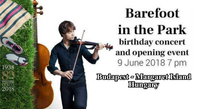 Canceled – Event: Alexander Rybak with concert at the Summer Festival in Budapest, Hungary, 9.6.2018