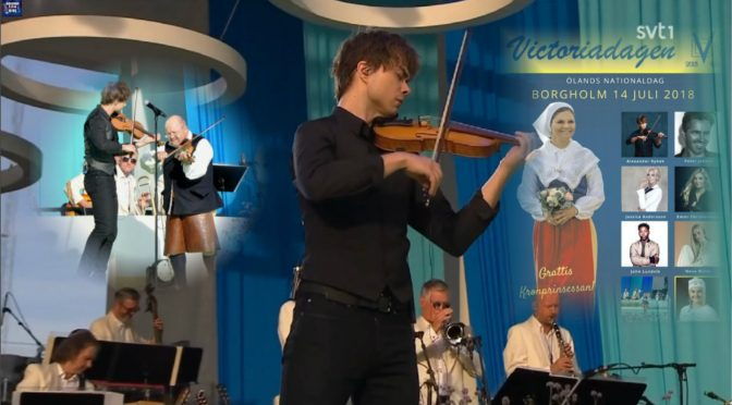 "Alexander Rybak at the ""Victoriadagen"" concert 14.07.2018"