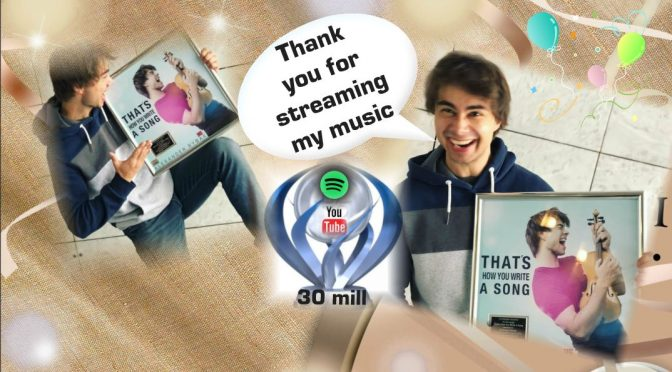 Alexander Rybak receives Platinum trophy for his MGP song – NRK.no 17.8.2018