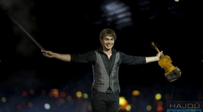"Alexander Rybak performed at the ""Carnival Night"" in Debrecen, Hungary 20.8.2018"