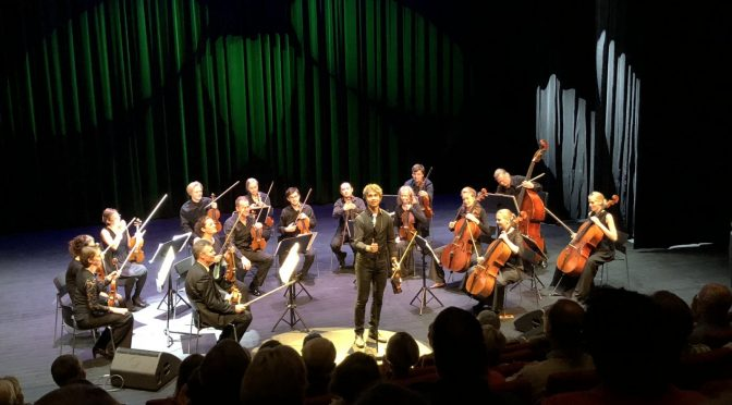 Classical and pop in beautiful association – Alexander Rybak in classical concert 7.9.2018