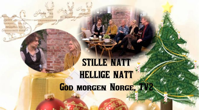 Alexander and the other artists from SNHN were guests in God Morgen Norge, TV2, 20.11.18