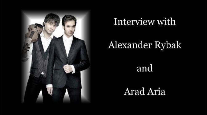 Interview with Alexander Rybak and Arad Aria about their musical collaboration