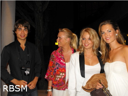 Alexander Rybak, Maria, Kathrine and Olga in Malta, September 18th, 2010