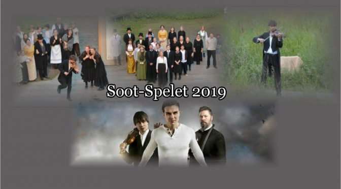 "Alexander Rybak as Ole Bull in ""Soot-Spelet"" 2019"