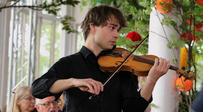 Alexander Rybak – interview in the Estonian newspaper Pealinn 13.09.2020