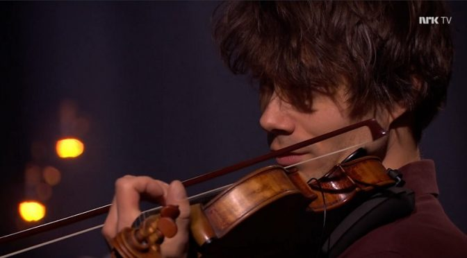 Alexander Rybak in Gjerdrum memorial concert 31.1.2021