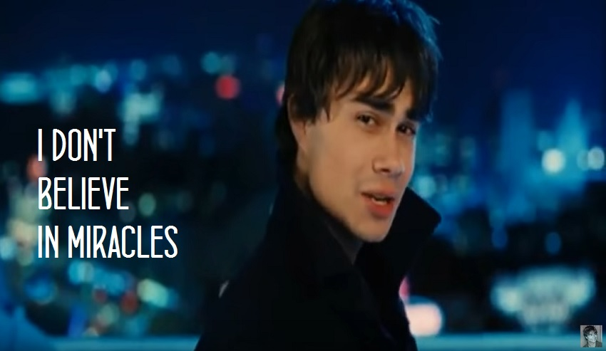 """The official music video of """"I Don't Believe in Miracles"""" – Alexander Rybak"""
