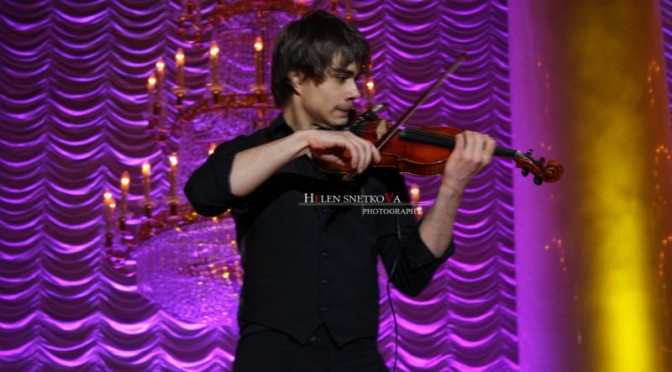 Alexander and Igor Rybak performing at Compatriot Award in Moscow 11.02.2010