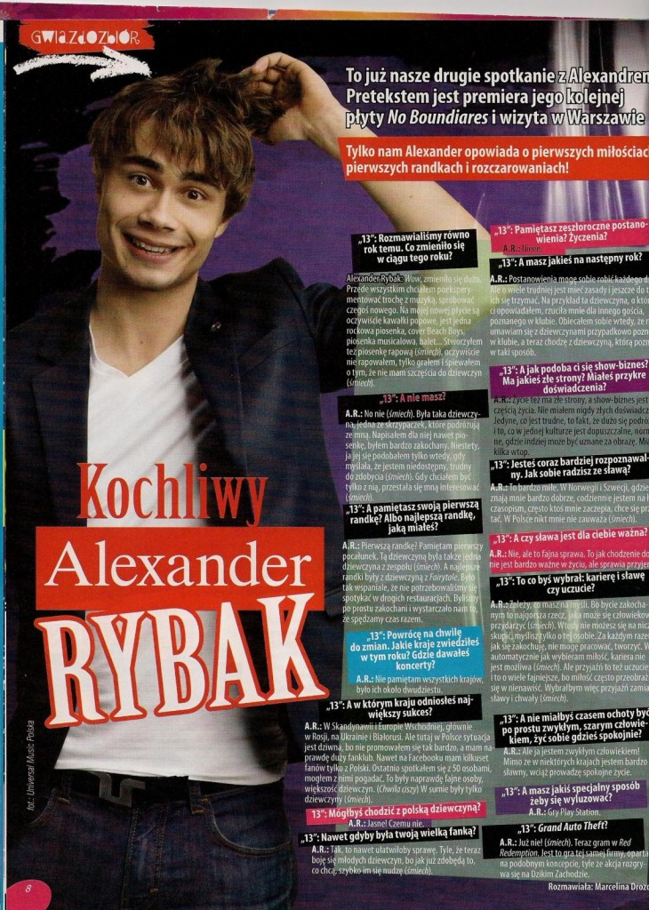 Interview in Polish Magazine