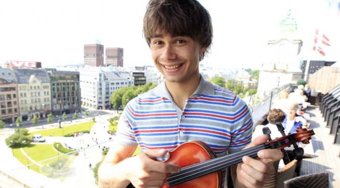 Alexander Rybak, interview to TV2 – 6.7.2011