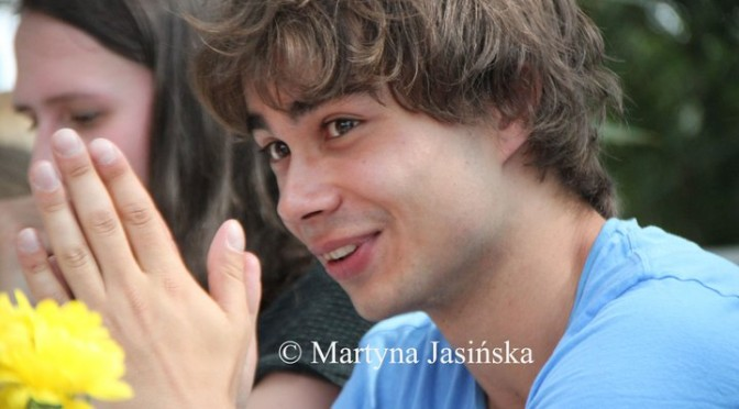 Alexander Rybak Meet&Greet in Zielona Gora, Poland, 16th of July 2011