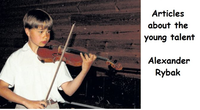 Completely surreal – Article about Alexander Rybak in Farsund's Avis May 23rd 2009