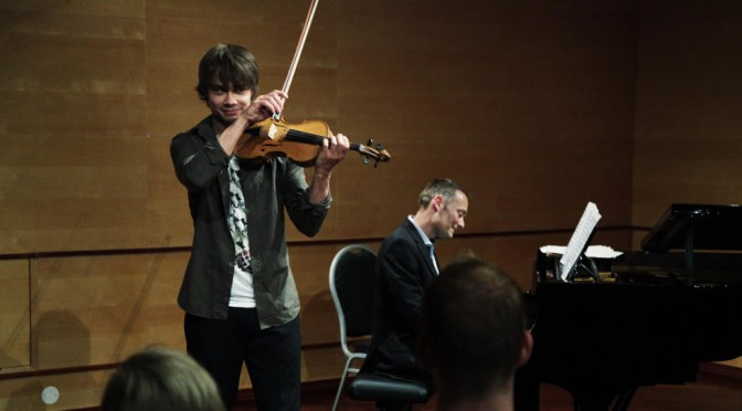 "Alexander Rybak -""Got top-grade at violin exam""  June 7th 2012"