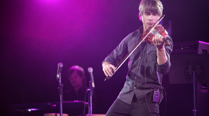 "Alexander Rybak: ""Me and my ex-girlfriend don't even talk to each other"". Nov. 3rd 2012"