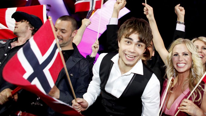 "ESC-WINNER: Alexander Rybak won the Eurovision Song Contest 2009 with the song ""Fairytale"". Photo : Scanpix"