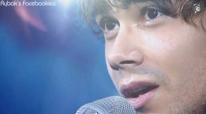 "Alexander Rybak in the Ukrainian TV-show ""Meeting Place"" performing ""I Asked the Ash"" & ""Bergrosa"" 18.10.2014."
