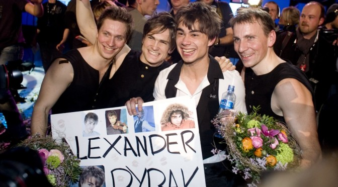 5 years ago Alexander Rybak won the golden ticket to paricipate in the ESC