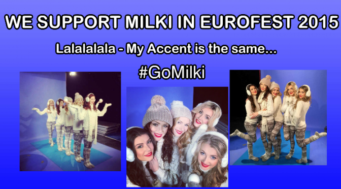 MILKI in EUROFEST 2015 – #Milki #ACCENT #AlexandeRybak – New post card video